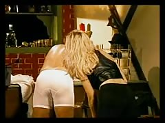 Guy in white undies getting spanked