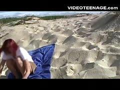 teen Nathalie nude at beach