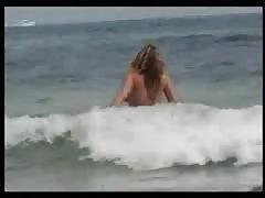 Nudist Beach Perv 11 Big Tits MILF