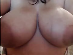 Webcams 2014 - Big Lactating Colombian Tits PART 1