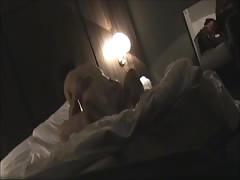Hotelroomsex with MILF Ine hidden camera part 2
