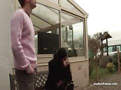 BBW Arab huge boobed hard anal fucked outdoor