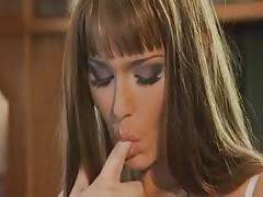 Simony Diamond - With two Arab men