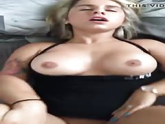 Dirty Blonde Amateur want a Creampie
