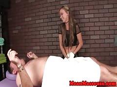 Pornstar Pristine Edge edging massage client