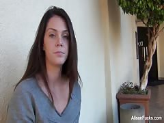 Behind the scenes with Alison Tyler and her breast implants