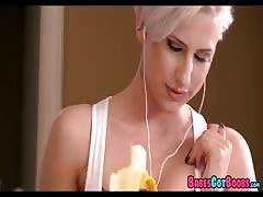 Platinum blondy stunner
