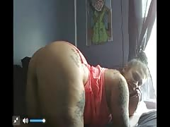 Pawg DatBitchJuicy Webcam Show Pussy Tease While On Phone