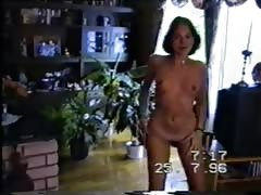 21yr old girls strips naked for your eyes only2