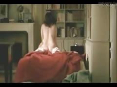Cumming inside her cowgirl sex