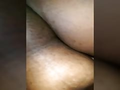 gobbling  Bbw pussy From backside