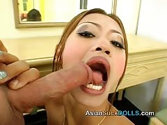 Toned Asian with small boobs fucked in the doggy style