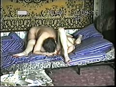 Hot amateur Russian sex with a sexy young brunette!