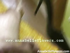 Sexy milf Annabelle Flowers is acting like a Dominatrix