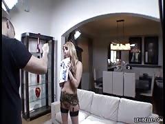 Backstage shootout with a famous pornstar Lexi Belle