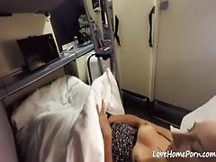 Chick has a wild romp with a stranger in the train