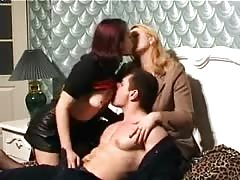 Dirty and lusty Russian hookers are pleasing only one cock
