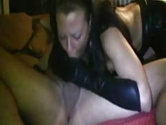 This is a real throat cumshot (Amazing amateur clip)