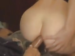 Deepthroat and ANAL creampie are this GF's best skills