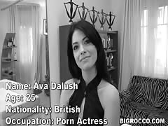 Rocco destroyes Ava Dalush's pussy