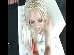 Blonde Slut VR Sloppy Deepthroat Blowjob