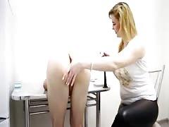 Prostate massage on kitchen