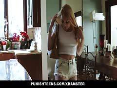 PunishTeens- Hot Groupie Teen Fucked By Busty Blonde Milf
