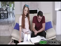 Nerdy Step Brother Seduced By Hot Sister Averi Adair