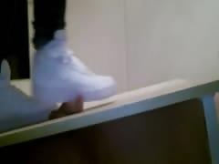Nike Air Force Shoejob and Cock Crush - Princess Anastasia