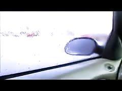 Wife rainy day blowjob in the car - negrofloripa