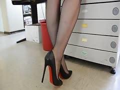 Feet in Nylon - Video 5