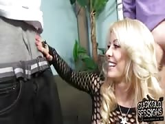Cuckold makes his wife happy with BBC