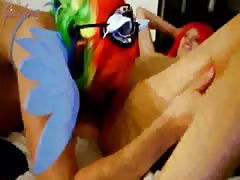 Rainbow Dash and Pinkie Pie Get Naughty for You (MP4)