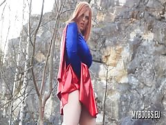 Alexsis Faye as SuperWoman