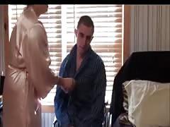 Helping injured step-son