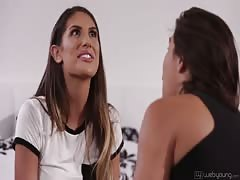 August Ames and Abella Danger Lesbian not Step sisters