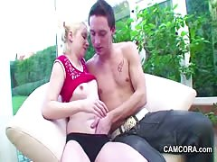 Step-sister an d German NOT Step-brother Fuck when Parents
