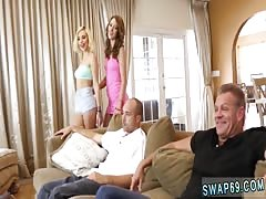 Vintage dad and daughter and mom catches step dad fucking daughter and