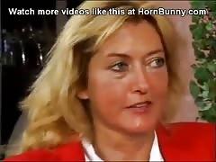 Step-mom with Big Natural Tits Sucks Som
