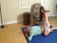 madisin step sister massage