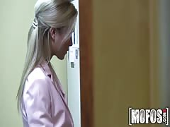 Mofos - Czech Blonde Fucks in Office