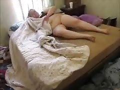 When mommy away me and step dad Play, virgin pussy and anal, creampie