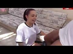 Eva Lopez Bends Over & Gets Her Asshole Shredded