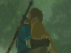 Zelda: breath of the wild : Zelda crying scene parody