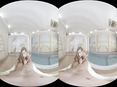 SexLikeReal-Sara Kay in Anal At The Pool 180VR 60 FPS RealJamVR