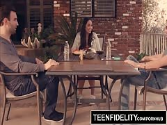 TEENFIDELITY Karlee Grey Fucks Her Two Best Friends