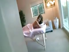 Melanie Rios teen massage
