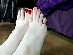 Amateur teen feet - 4
