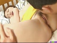 Rina Yuuki fucked hardcore and dicked hard in her pot