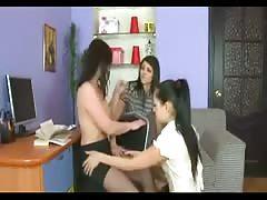 missy , lera and milf lesbian